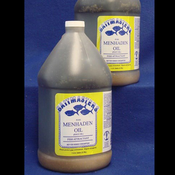 557 – Menhaden Oil – Gallon, BAITMASTERS